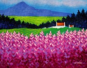 Impressionism Acrylic Prints Art - The Sugarloaf County Wicklow by John  Nolan