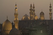 Religions Prints - The Sultan Hassan And Rifai Mosques Print by Richard Nowitz