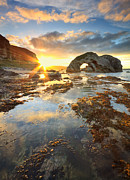 Antrim Framed Prints - The Sun Fortress Framed Print by Pawel Klarecki
