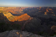 Powell River Metal Prints - The sun rises slowly over the Grand Canyon Metal Print by Sven Brogren