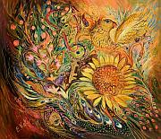 The Sunflower Print by Elena Kotliarker