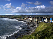 Atlantic Ocean Posters - The Surf Town Of Lahinch On The West Poster by Chris Hill