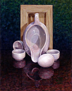 Pitcher Painting Originals - The Surrogate by Jane Bucci