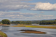 Poconos Art - The Susquehanna River at Kingston Pa. by Bill Cannon