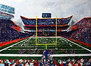 Florida Gators  Paintings - The Swamp by Eric Cobb
