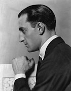 1920s Portraits Photos - The Swan, Basil Rathbone, Cort Theater by Everett