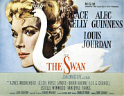 1956 Movies Framed Prints - The Swan, Grace Kelly, 1956 Framed Print by Everett