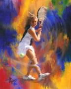 Athletics Mixed Media - The Sweet Spot by Colleen Taylor