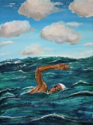 Swimmer Originals - The Swimmer by Mike Paget