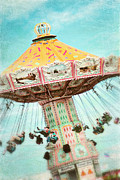 Swings Framed Prints - The Swings 2 Framed Print by Sylvia Cook