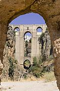 Ronda Prints - The Tajo de Ronda and Puente Nuevo bridge Andalucia Spain Europe Print by Mal Bray