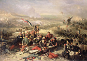 Siege Paintings - The Taking of Malakoff by Adolphe Yvon