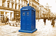 Dr. Who Art - The Tardis by Rob Hawkins