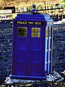 Dr. Who Art - The Tardis by Steve Purnell