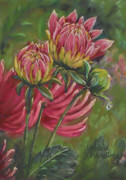 Bud Pastels Prints - The Tear Print by Debbie Harding