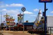 The Mother Photo Prints - The Tee-Pee Curios on Route 66 NM Print by Susanne Van Hulst