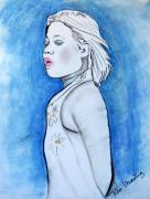 Teenager Pastels - The Teenager by Pilar  Martinez-Byrne