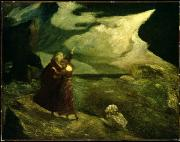 Shakespeare Art - The Tempest by  Albert Pinkham Ryder