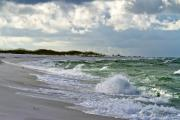 Pensacola Prints - The Tempest Roars Print by Richard Roselli