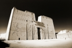Horus Metal Prints - The Temple of Horus Metal Print by Ken A Earl