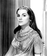 1950s Portraits Metal Prints - The Ten Commandments, Debra Paget, 1956 Metal Print by Everett