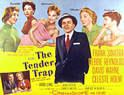 Sinatra Art Posters - The Tender Trap, Frank Sinatra, David Poster by Everett
