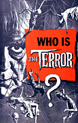 Teaser Prints - The Terror, Boris Karloff On 1 Sheet Print by Everett