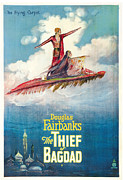 Subject Poster Art Prints - The Thief Of Bagdad,  Douglas Print by Everett