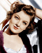 1930s Portraits Photos - The Thin Man, Myrna Loy, 1934 by Everett