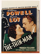 Thin Framed Prints - The Thin Man, Myrna Loy, William Framed Print by Everett