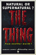 Films By Howard Hawks Posters - The Thing Aka The Thing From Another Poster by Everett