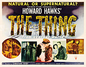 1950s Movies Prints - The Thing From Another World, Margaret Print by Everett
