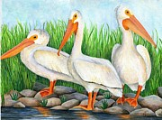 Dakota Paintings - The Three Amigos by Brandy Fenenga