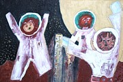Raul Gubert - The Three Cosmonauts