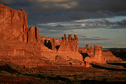 Red Rocks Photos - The Three Gossips and Sheeprock by Timothy Johnson