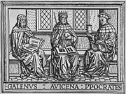Woodcuts Photos - The Three Great Ancient Teachers by Everett