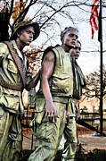 Vietnam War Art - The Three by JC Findley