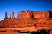 Old West Photos - The Three sisters by Robert Bales