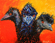 Emu Originals - The ThreEMUSkateers by Cal Kimola Brown