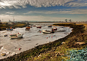 River Tees Prints - The Tide is Out. Print by Trevor Kersley