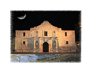 The Alamo Framed Prints - The Tide is Rising at the Alamo Framed Print by Carol Groenen