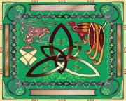 Celts Posters - The Tie that Binds Poster by Mike Sexton