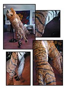 Striking Sculptures - The Tigers by Lonnie Tapia
