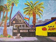 Tiki Bar Painting Prints - The Tiki  Print by James  Christiansen