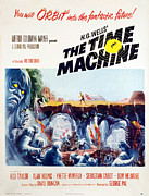 1960 Posters - The Time Machine, 1960 Poster by Everett