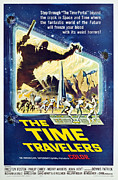 1960s Poster Art Posters - The Time Travelers, 1964 Poster by Everett
