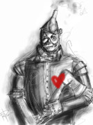 Rivets Art - The Tin Man by Russell Pierce