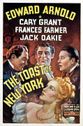 Cary Framed Prints - The Toast Of New York, Edward Arnold Framed Print by Everett