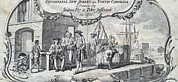 1750s Posters - The Tobacco Trade. Merchants Relax Poster by Everett