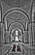 Tombs Digital Art - The Tombs at Fontevraud Abbey   France by Sheila Laurens